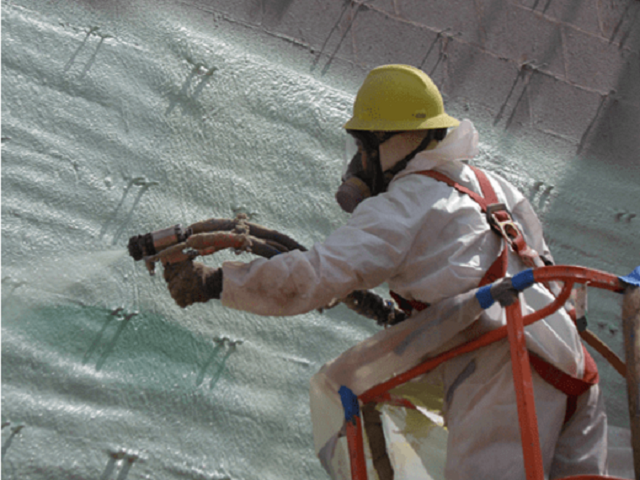 Installing Commercial Spray Foam Insulation Baton Rouge